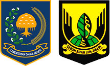 Logo Kemendagri dan Kabupaten Sukabumi